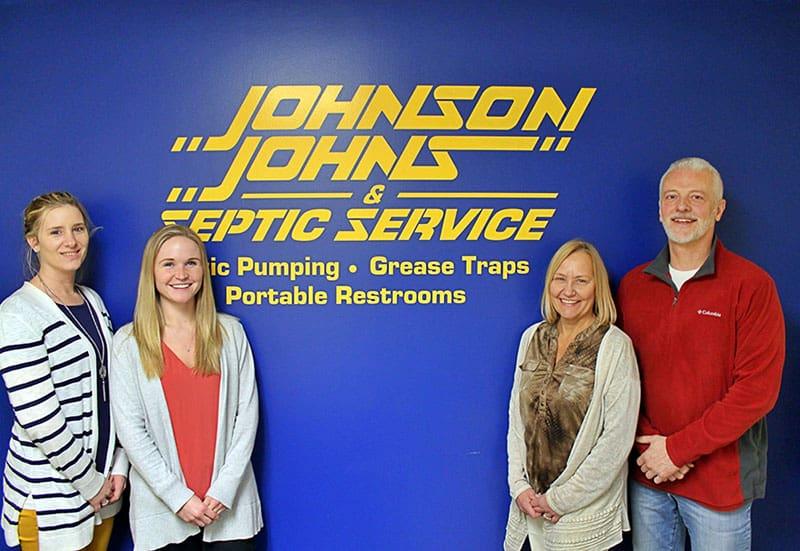 Contact Johnson Johns team 4 members